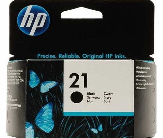 21 - Black Inkjet Print Cartridge (C9351AE)