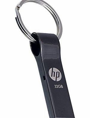 HP 32GB Metal Design with Key Ring USB2.0 Drive