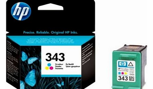 343 - Tri-color Inkjet Print Cartridge (C8766EE)