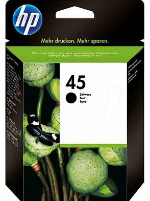 51645A No. 45 XL Ink Cartridge - Black