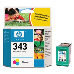Inkjet Cartridge No. 343 Colour 7 ml Ref