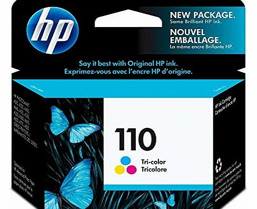 No.110 Tri-Color Ink Cartridge Photosmart Compact Photo Printer - Inkjet - 55 Page - Color
