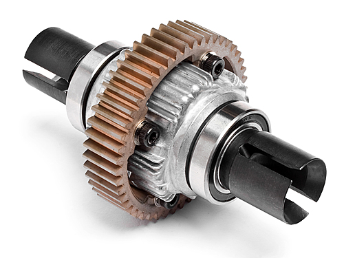 Complete Alloy Diff Gear Set Assembly With 1000