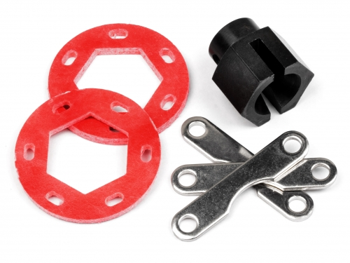 Fiberglass Dual Disk Brake Conversion Kit Savage X