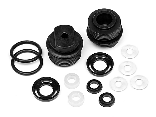 Shock Bottom Cap Set For HPA720 (Assembled/2Pcs)
