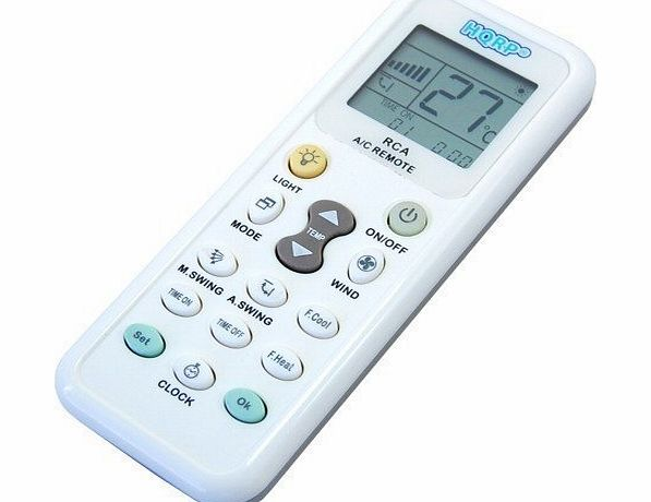 Universal A/C Remote Control for MITSUBISHI TOSHIBA HITACHI FUJITSU HYUNDAI PANASONIC DIY DAEWOO LG SHARP SAMSUNG ELECTROLUX SANYO AMCOR CARRIER Air Conditioner
