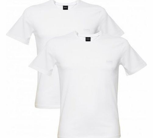 2-Pack Crew-Neck T-Shirts, White