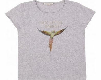 Lovebird T-shirt Heather grey `2 years,6 years,8