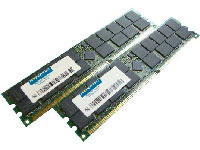 A Compaq equivalent 1GB DIMM (kit x 2; PC2100) from HYPERTEC