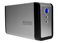 Primary FireStorm1.0TB(2x500GB)3.5 7200rpm USB2.0 HDD USB2.0 Cable PSU 3Yrs Wrty