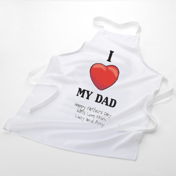 Love My... Personalised Apron