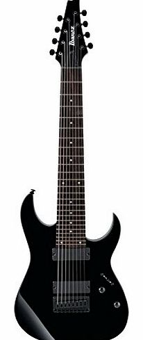 RG8 BLACK Electric guitars 8 Strings and more