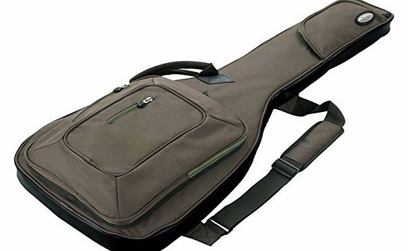 IGB621P-KH Powerpad DeLuxe Case for Electric Guitar Nylon, Khaki