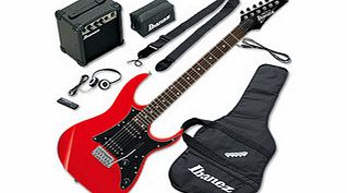 IJRG200 Jump Start Electric Guitar Pack Red