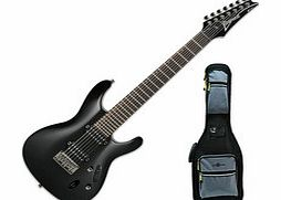 S7521 7-String Electric Guitar Black +