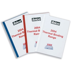 Thermal Binding Covers A4 4mm Front PVC