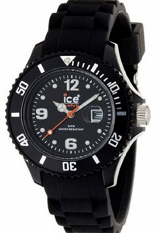 Sili Forever Black Small Silicone Watch SI.BK.S.S