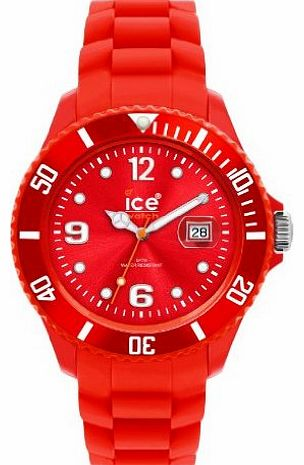 Unisex SILI SI.RD.U.S.09 Red Quartz Watch with Red Dial