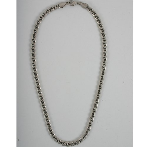 Mens Icon Ss Necklace Silver