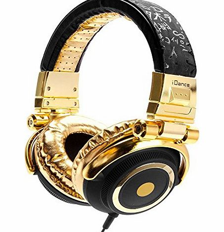 iDance 623100 Disco Headphone for iPad - Black/Gold
