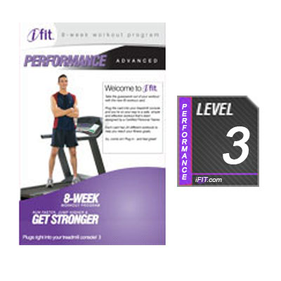 iFit Performance Treadmill Workout SD Card -