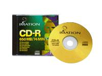 CD-R 700MB 8OMIN 52X - 10 PACK