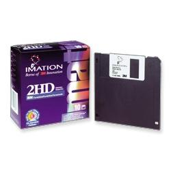 DS/HD 3.5`` IBM Formatted Diskettes 10pk