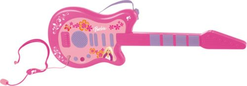 Barbie Electronic Guitar & Microphone