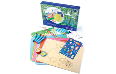 Colouring and Activity Set