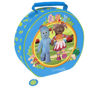 in the night garden Igglepiggle and Upsy Daisy Round Lunchba