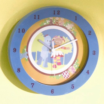 In the Night Garden Wall Clock