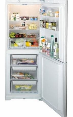 BIAA12 Free Standing Fridge Freezer in White A+ rating