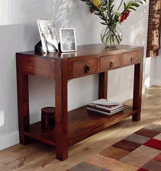 3 Drawer Console Table IP063