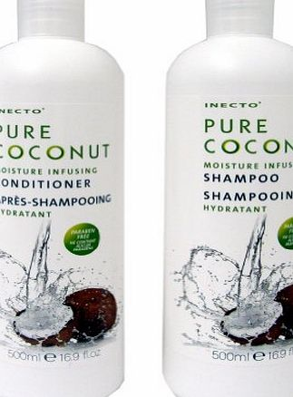 Inecto Pure Coconut Shampoo   Conditioner