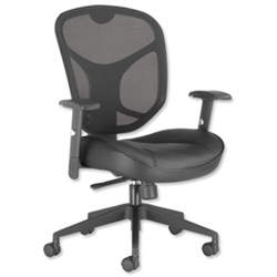 Influx Amaze Mesh Task Chair Leather