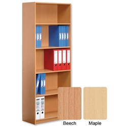 Basics Budget Bookcase Tall Maple