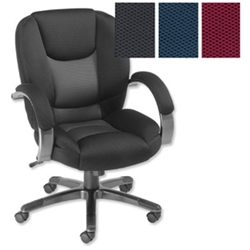 Influx Bounce Manager Chair Grey/Black