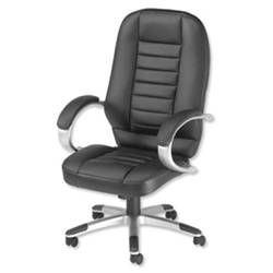 Influx Breeze F4 Executive Chair Black