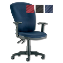 Influx Vitalize Deluxe Task Chair Asynchronous