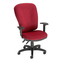 Influx Vitalize Red Deluxe Task Chair