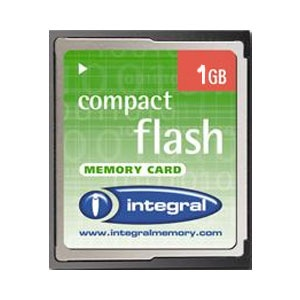 1GB CompactFlash Card