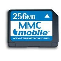 256MB MULTIMEDIA MOBILE CARD