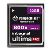 Integral 32GB 800X UltimaPro CompactFlash Card