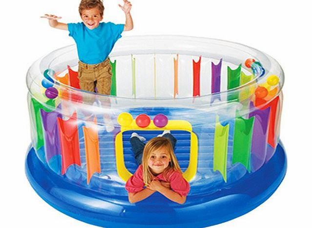 Recreation Jump-O-Lene, Transparent Ring Bounce, Age 3-6