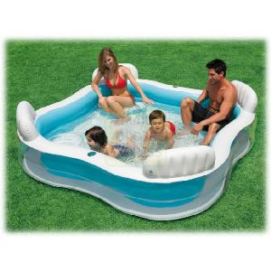 Intex Swim Centre Family Lounge Pool Outdoor Toy Review Compare Prices Buy Online