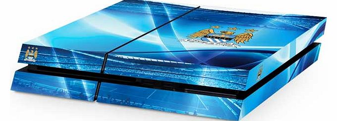 Man City PS4 Console Skin