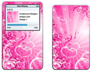 ipod Video Love Pink