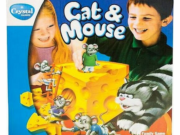 Cat & Mouse 3D Game - Collect Cheese pieces Board Game