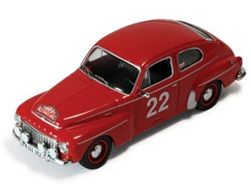 Diecast Model Volvo PV544 (1965 Monte Carlo Rally) in Red (1:43 scale)