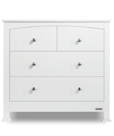 Tranquillity white chest of drawers
